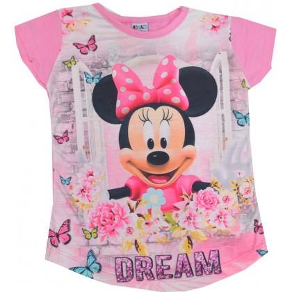 Детска блуза ММ 3 години в розово.