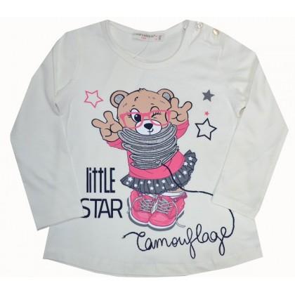 Детска блуза МЕЧЕ С ОЧИЛА 86-110 ръст BREEZE.