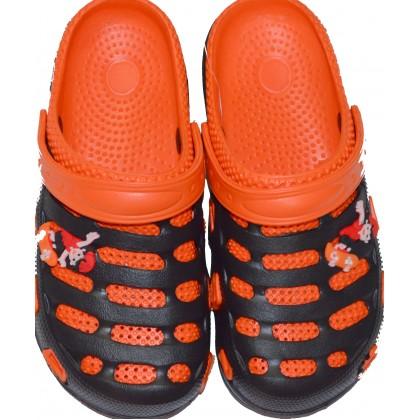 Детски крокс 30-35 номер в оранжево.