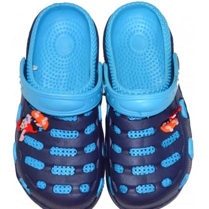 Детски крокс 30-34 номер в синьо.