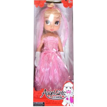 Кукла АНЖЕЛА 40см в розово.