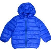 Детско яке 1-2 години в синьо.