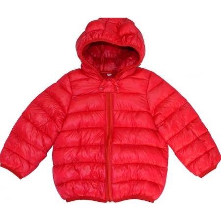 Детско яке 1-2 години в  червено.