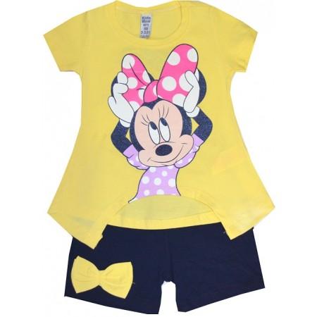 Детски комплект ММ 1-3 години в жълто.