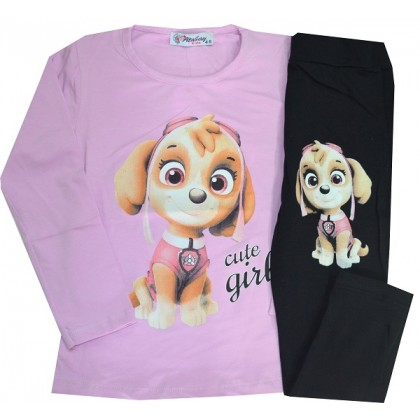 Детски комплект ММ 1-8 години в лилаво.
