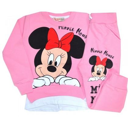 Детски комплект ММ 1-7 години в розово.