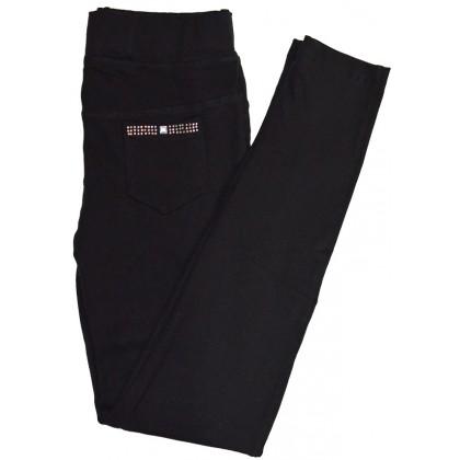 Детски клин панталон ЧЕРЕН 7 -11 години.