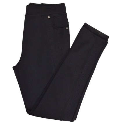 Юношески клин панталон 12-16 години в черно.