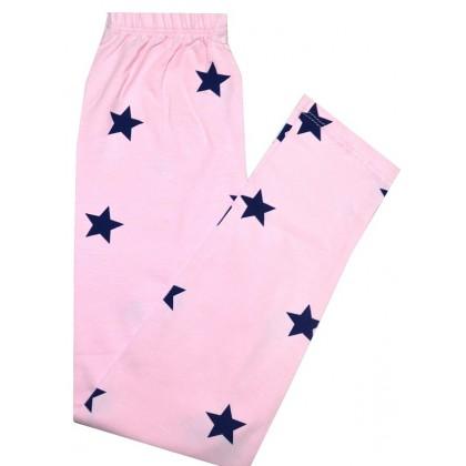 Детски клин ЗВЕЗДИ 4-8 години в нежно розово.