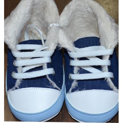 Бебешки буйки КОКО със синьо.