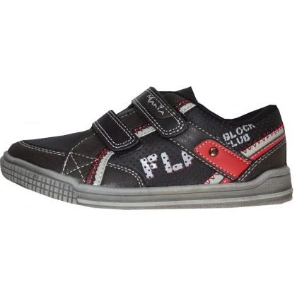 Детски обувки МОМЧЕ 31-36 номер в черно.
