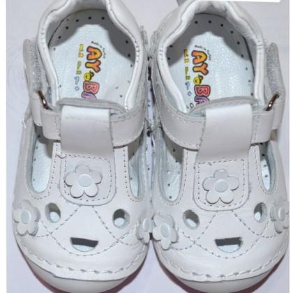 Бели детски обувки 19-22 номер.