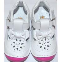 Бели детски обувки ПАНДЕЛКА 19-23 номер.