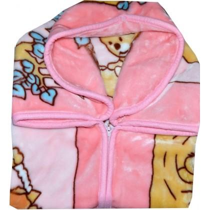 Бебешко ПОРТ БЕБЕ за изписване в розово.