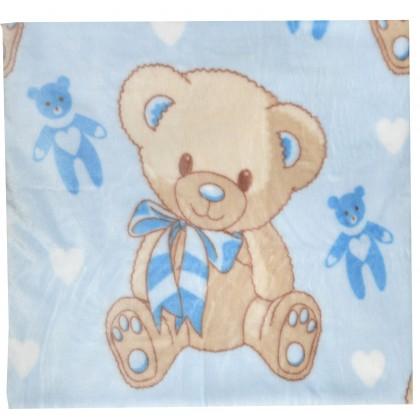Бебешко одеяло МЕЧЕ 114/92 в синьо.