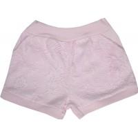 Бебешки къси панталони 56-80 ръст в розово.