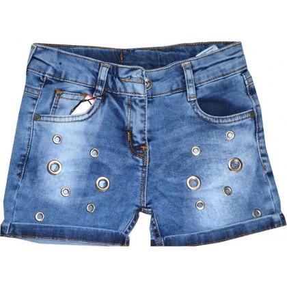 Дънкови къси панталони 3-6 години.