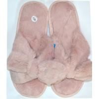 Меки пухкави пантофи 36-40 номер в розово.