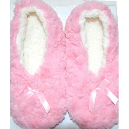 Детски пантофи РОЗОВИ 24-35 номер в розово.