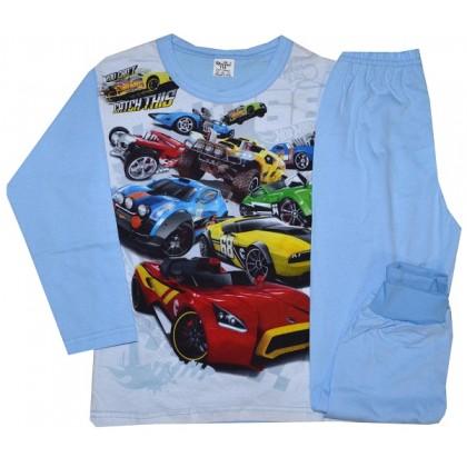 Памучна детска пижама КОЛИ 98-116 ръст.