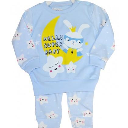 Бебешка пижама ЗАЙЧЕ 56-74 ръст.