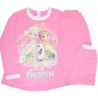 Детска пижама  АНА И ЕЛЗА 104-122 ръст в розово.
