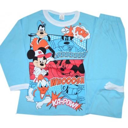 Детска пижама  МИНИ И ГУФИ 92-98 ръст в синьо.