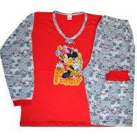 Детска пижама МИНИ МАУС 6 години в червено.