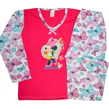 Детска пижама МИНИ МАУС  5 години в циклама.