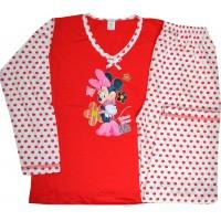 Детска пижама МИНИ МАУС  5 години в червено.