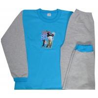 Ватирана детска пижама СПОРТ 12-13 години.