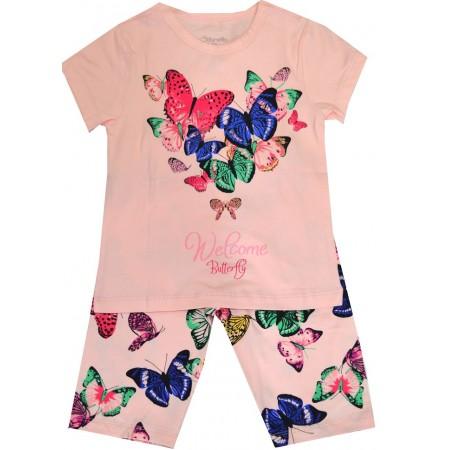 Лятна детска пижама ПЕПЕРУДИ 2-11 години.
