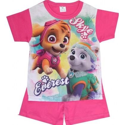 Лятна детска пижама КУЧЕНЦА 98-116 ръст.