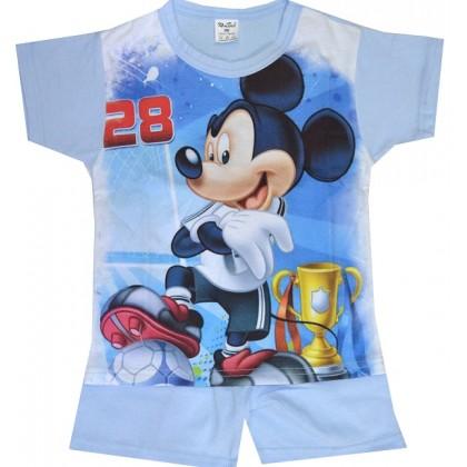 Детска пижама къс ръкав ММ 98-116 ръст.