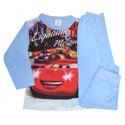 Детска пижама МАКУИН 98-116 ръст в синьо.