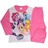 Детска пижама *МАЛКИ ПОНИТА* 98-116 ръст в циклама.