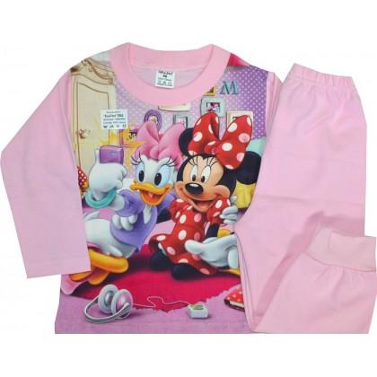Ватирана детска пижама ММ 86-92 ръст.