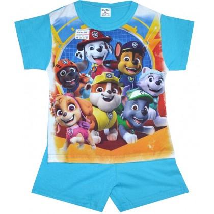 Детска пижама къс ръкав ПЕС ПАТРУЛ 98-116 ръст.