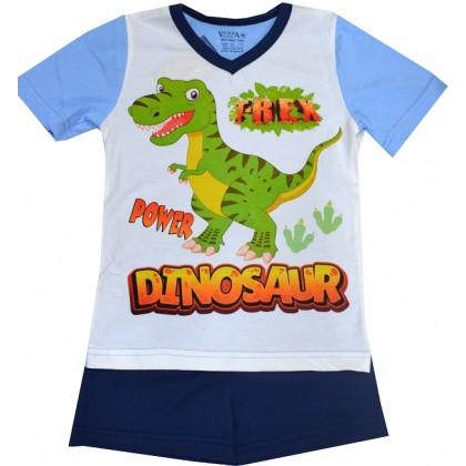 Лятна детска пижама ДИНО 98-122 ръст.