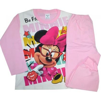 Ватирана детска пижама М 98-116 ръст.