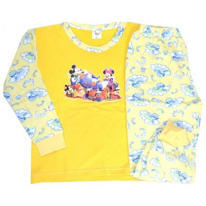 Ватирана детска пижама ММ 2-3 години.