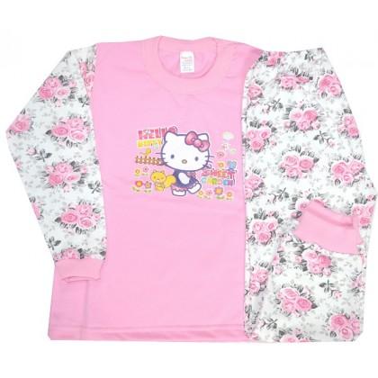 Ватирана детска пижама КИТИ 3-4 години.