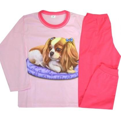 Детска пижама КУЧЕ 6-7 години.