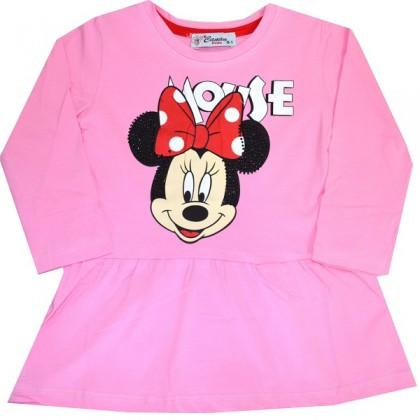 Детска рокля ММ 1-8 години в розово.