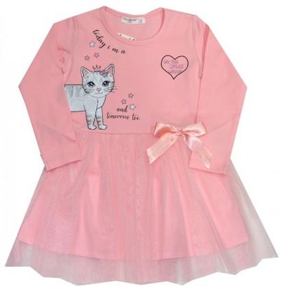 Детска рокля КОТЕ 98-128 ръст.