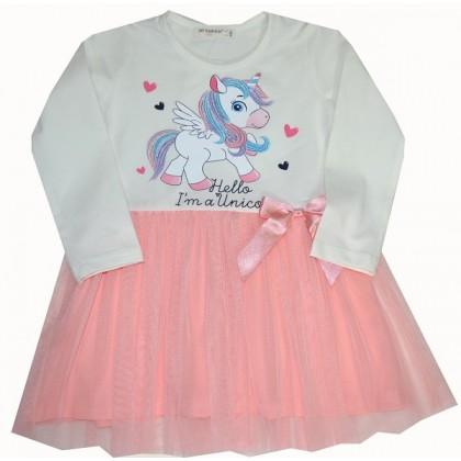 Детска рокля ПОНИ 92-116 ръст.