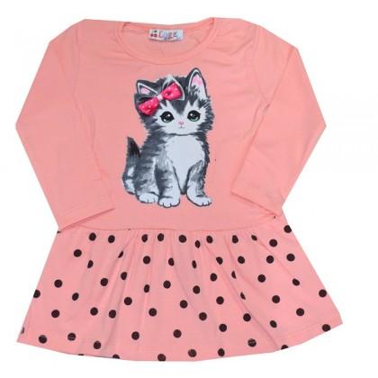 Детска рокля КОТЕ 1-3 години КОД 01.