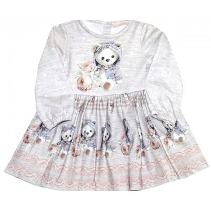 Детска рокля МЕЧЕТА 86-92 ръст.