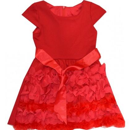 Детска рокля ЧЕРВЕНА 2-9 години.