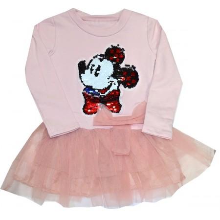 Детска рокля ММ 110-128 ръст.
